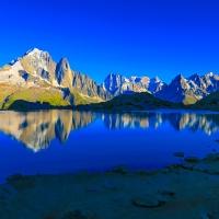 Du lac blanc à Vallorcine